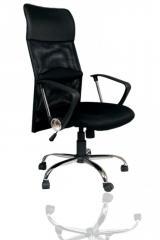 Кресло ВХ-5035 Ткань, база металл хромированный