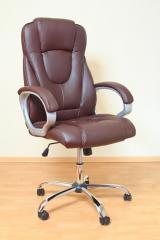 Кресло ВХ-0050 ЭКО кожа, база металл хромированный