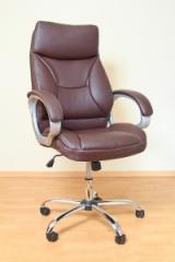 Кресло ВХ-0055 ЭКО кожа, база металл хромированный