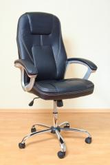 Кресло ВХ-3059 ЭКО кожа, база металл хромированный