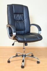 Кресло ВХ-1130 ЭКО кожа, база металл хромированный