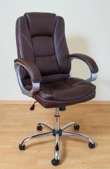 Кресло ВХ-3177 ЭКО кожа, база металл хромированный