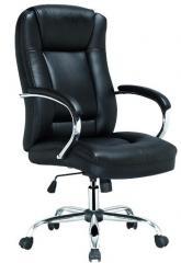 Кресло ВХ-3527 ЭКО кожа, база металл хромированный