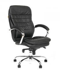Кресло ВХ-3058 ЭКО кожа, база металл хромированный
