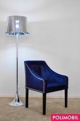 Кресло Tango III с декоративными гвоздями и пуговицами