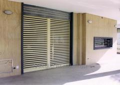 Jalousien an Türen
