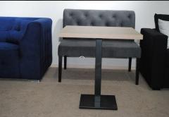 Стол №4 700*700*36 мм (нога 40х40)