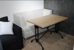 Стол №9 1100*700*36 мм (нога двойная алюминиевая)