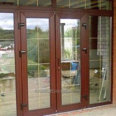 Las puertas De alumini