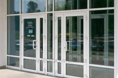 Двери ПВХ Саламандер
