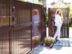 Жилые ворота