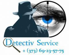 Услуги детектива в Молдове. Детектор лжи. Детектив. Detectiv.
