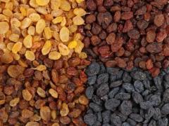 Raisins secs au chocolat
