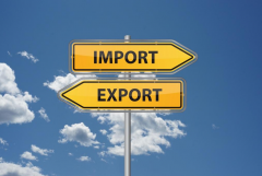 Экспорт и импорт сельхозпродукции и мясо