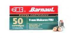 Пистолетные патроны BARNAUL 9mm Makarov