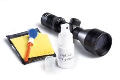 Комплект для чистки оптических линз, Средства по