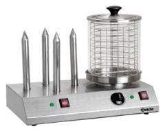 Аппарат для приготовления хот-догов с 4 насадками для разогрева булок  Bartscher