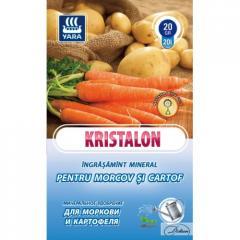 Удобрение Kristalon для Моркови и Картофеля 20г.