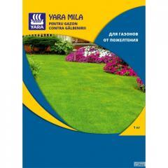 Удобрение Yara Mila для газонов от пожелтения