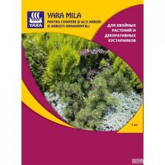 Удобрение Yara Mila Осеннее удобрение для хвойных растений 1кг.