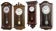 Часы деревянные настенные тм RHYTHM