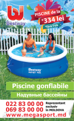 Discounts! Inflatable and frame pools Megasport.