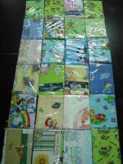 Bedding set, cotton of 46 strings of the Baby