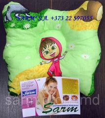Pillow children's orthopedic Fluturas