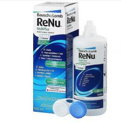 Solutions for the maintenance of contact lenses