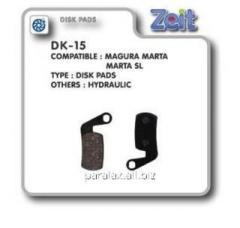 Колодки дисковые Zeit DK-15