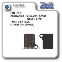 Колодки дисковые Zeit DK-22