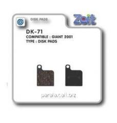 Колодки дисковые Zeit DK-71