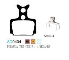 Колодки дисковые ASHIMA AD0404-SM-S w/spring