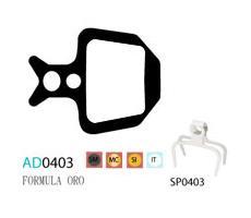Колодки дисковые ASHIMA AD0403-SM-S w/spring