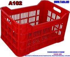 Ящик пластиковый модель A102/Lada din plastic