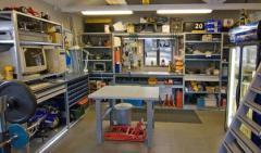 Стеллаж для гаражей и мастерских