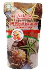 Bath salt with essential oil of a ylang-ylang,