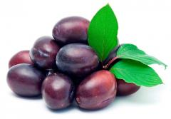 Plums for export