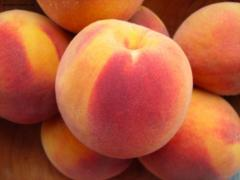 Peaches on export