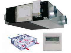 Установки вентиляционные и охладительные