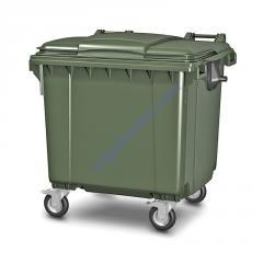 Пластиковый мусорный контейнер 1100 л 22.C19