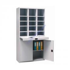 Металлический шкаф для сортировки и хранения