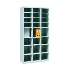 Шкаф с ячейками для сортировки и хранения