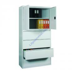 Шкаф металлический для скоросшивателей и подвесных папок формат А4 Skb 1