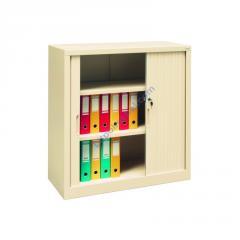 Металлический офисный шкаф с дверями типа жалюзи Sbm 109