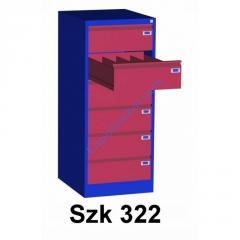 Шкаф для трудовых книжек Szk 322