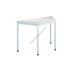Металлический офисный стол трапецевидный Stb 201