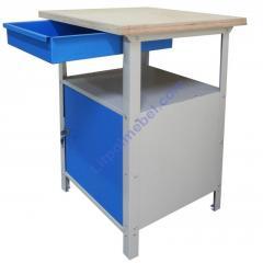 Стол металлический для мастерской Stw 111