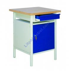 Стол металлический для мастерской Stw 112