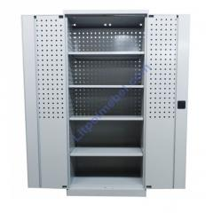 Инструментальный металлический шкаф с перфорацией Swm 323